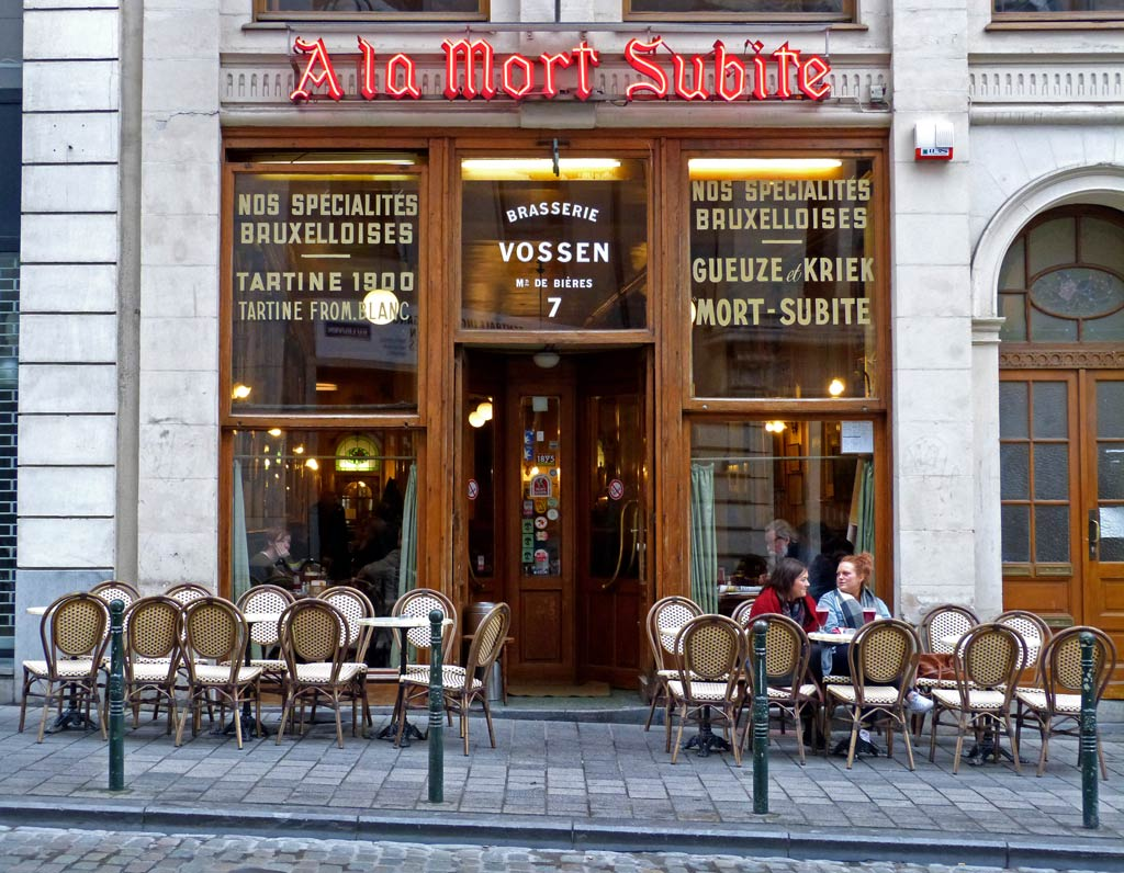 A La Mort Subite, 48 Stunden Brüssel