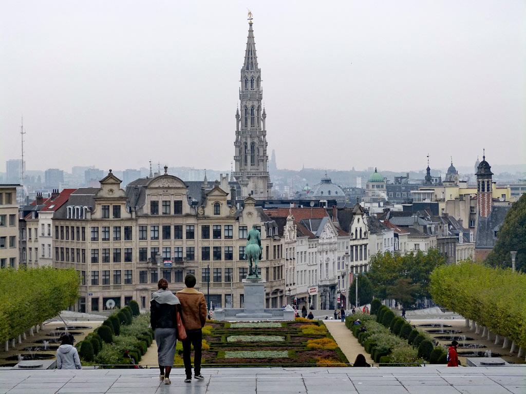 Aussicht auf Brüssel, 48 Stunden Brüssel