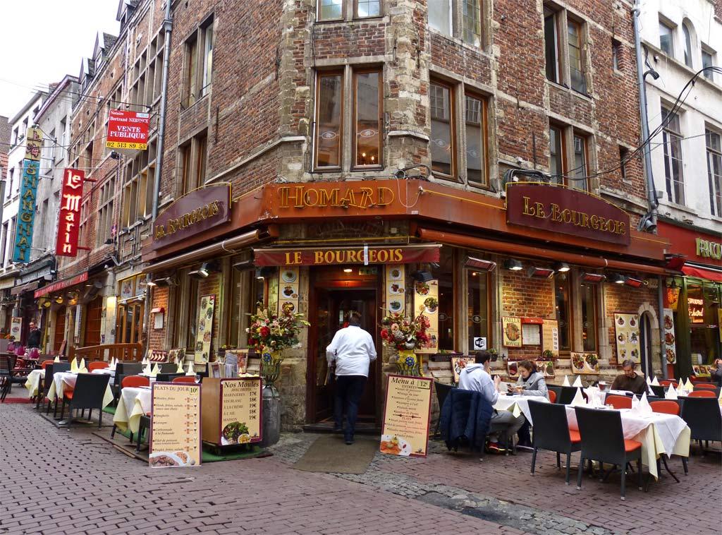 Restaurant in Brüssel, 48 Stunden Brüssel