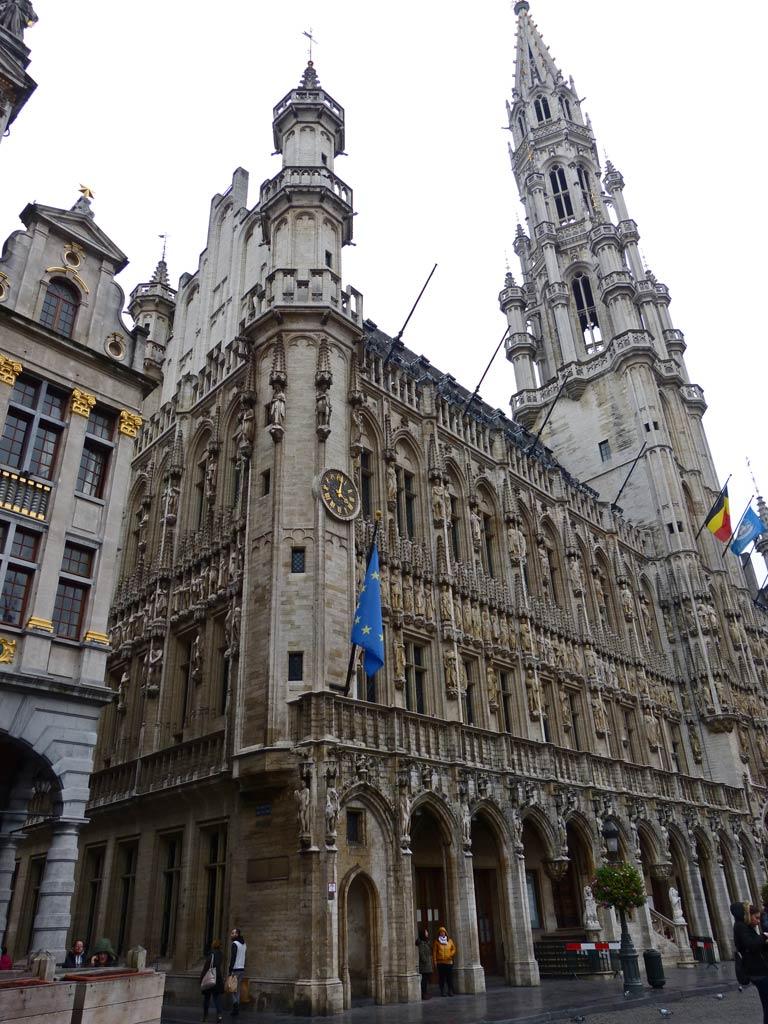 Rathaus Brüssel, 48 Stunden Brüssel