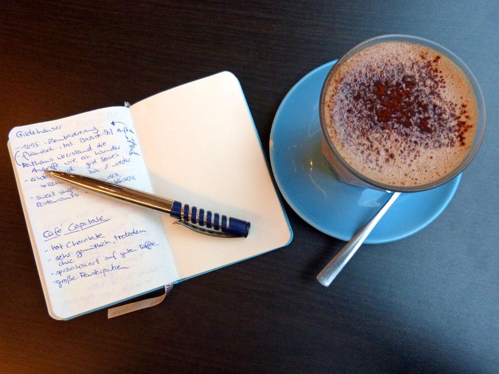 Cafe Capitale in Brüssel, 48 Stunden Brüssel