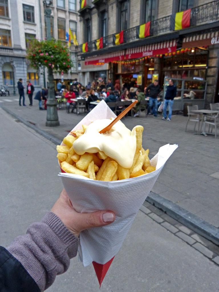 Pommes von Fritland in Brüssel, 48 Stunden Brüssel
