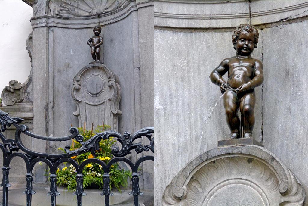 Manneken Pis. 48 Stunden Brüssel