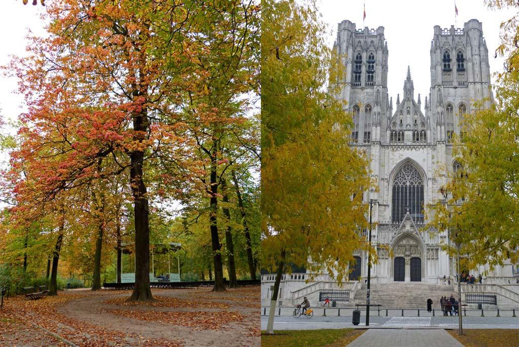 Königliche Gärten und Kathedrale von Brüssel, 48 Stunden Brüssel