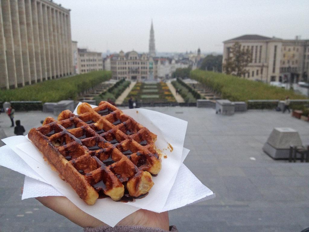 Belgische Waffel in Brüssel