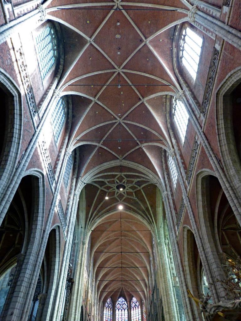 Kirchendecke in Kathedrale von Gent, Gent Sehenswürdigkeiten, Moments of Travel