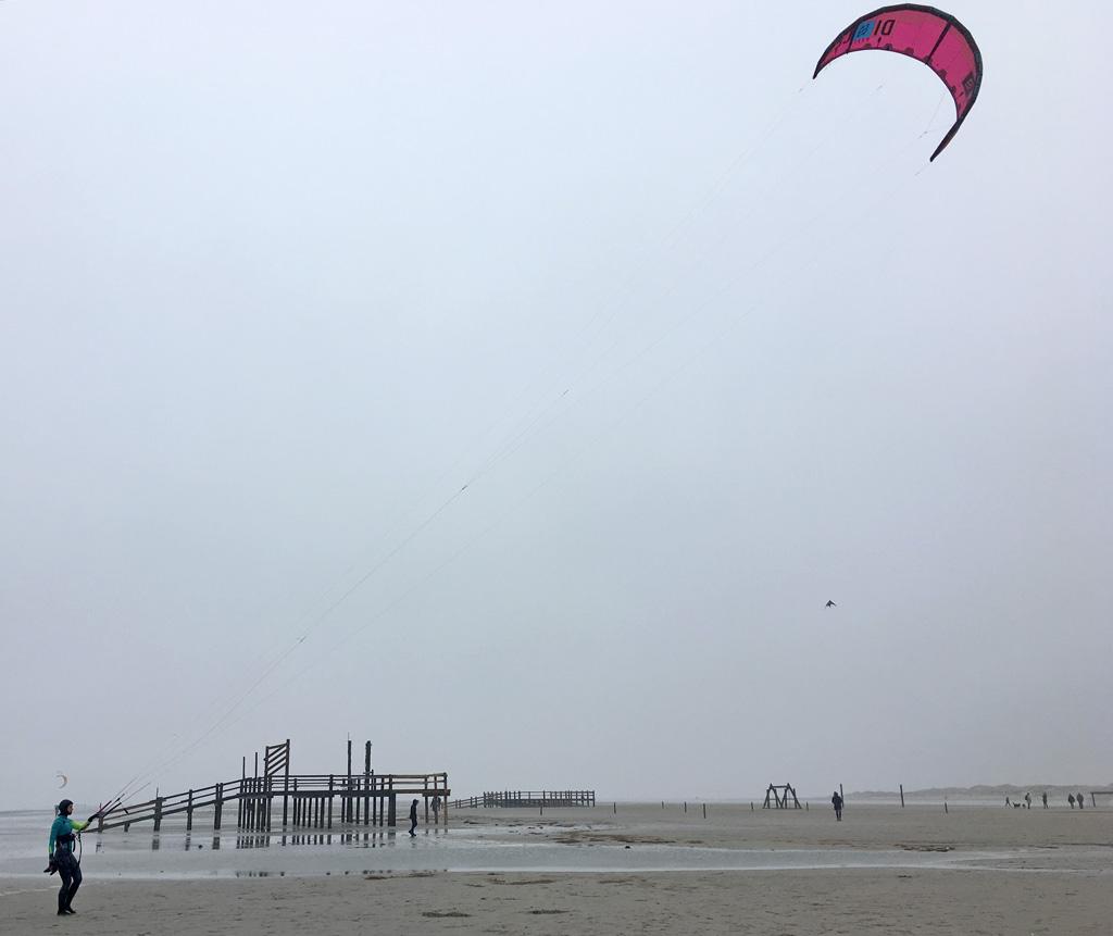 Kites Meer Strand St. Peter-Ording
