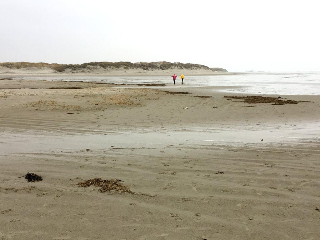 St. Peter-Ording Strand Menschen