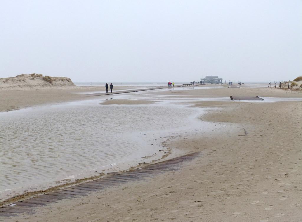 St. Peter-Ording Wasser Strand