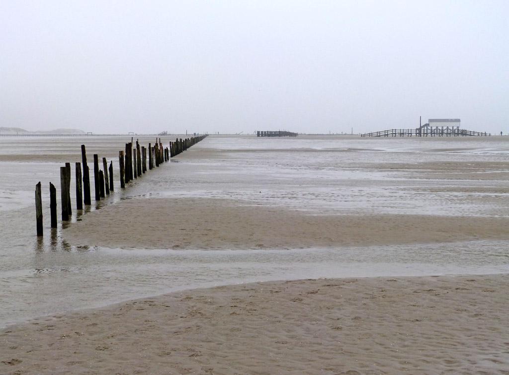 Strand Wasser St. Peter-Ording
