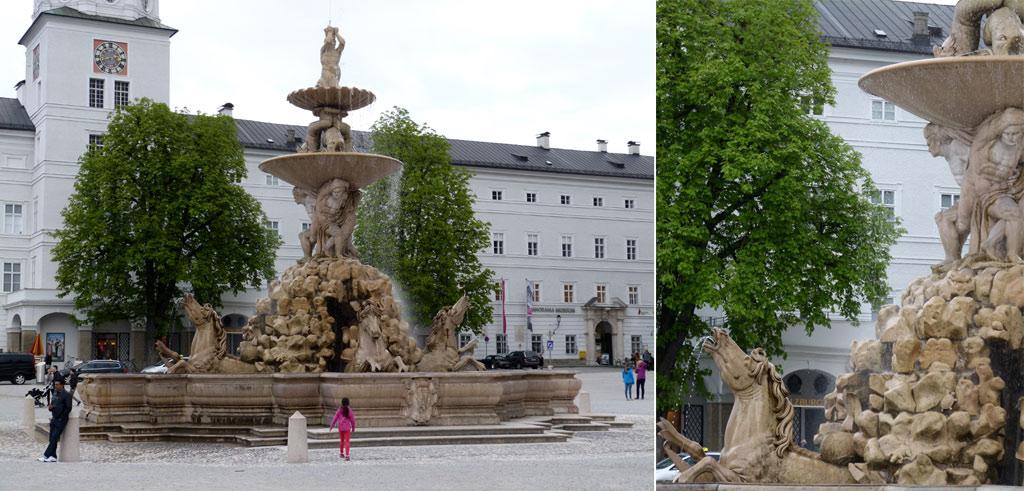 Brunnen im DomQuartier Salzburg