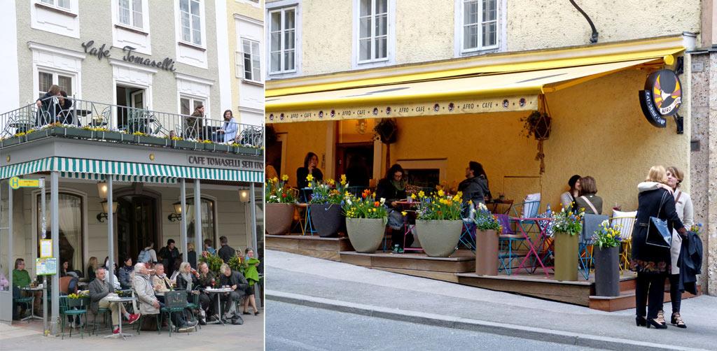 Cafe Tomaselli Salzburg Afrocafe