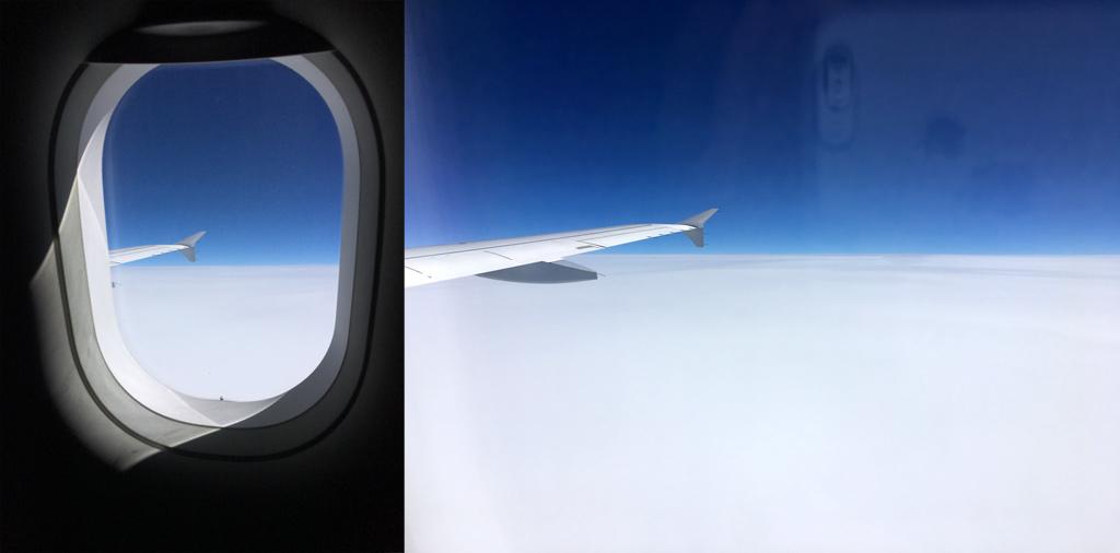Wolken und blauer Himmel