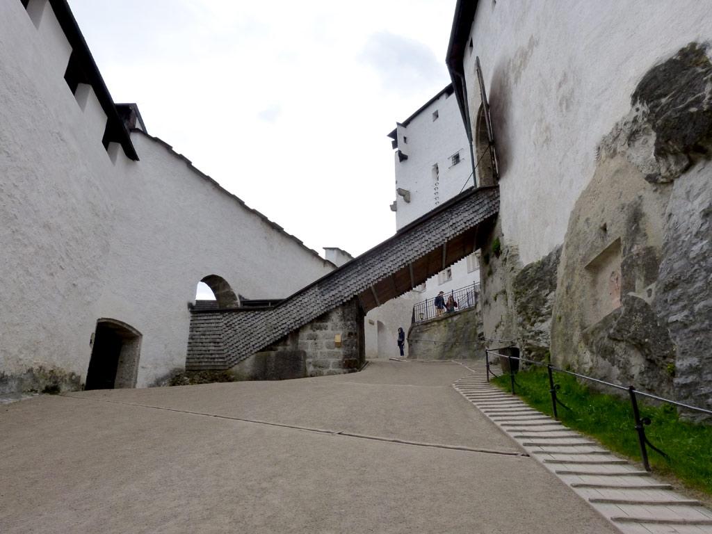 Aufstieg zur Festung Hohensalzburg
