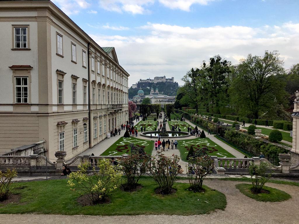 Park Mirabellgarten Salzburg