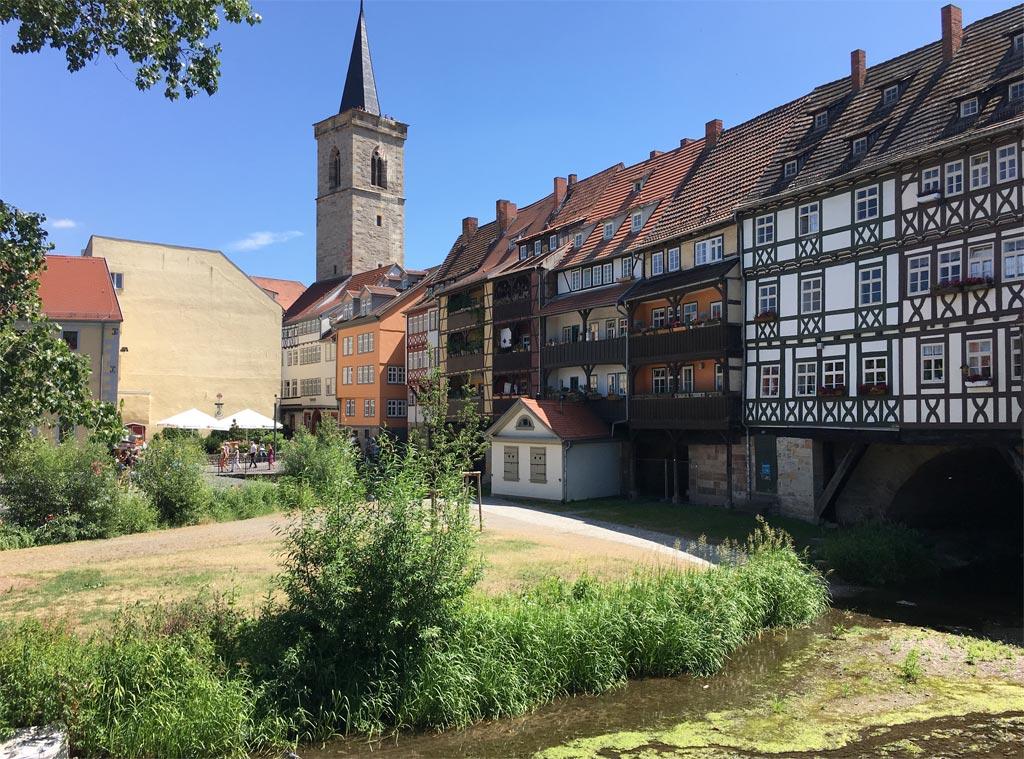 Krämerbrücke Erfurt Außenansicht