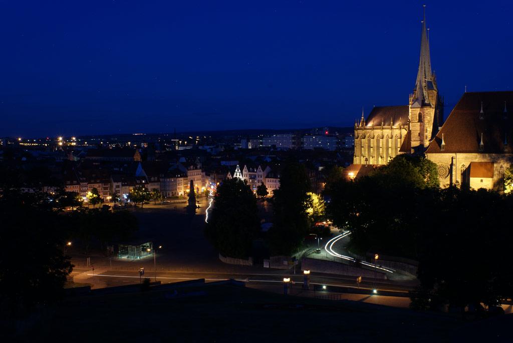 Dom Erfurt Nacht