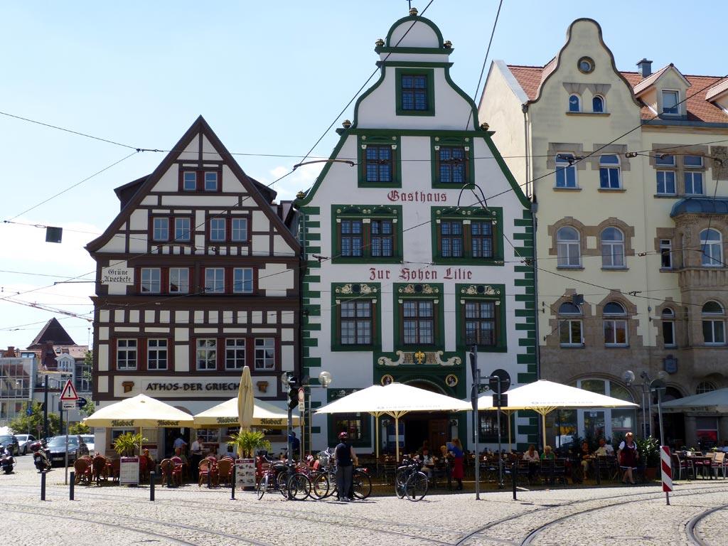 Fachwerkhaus Giebeldach Erfurt