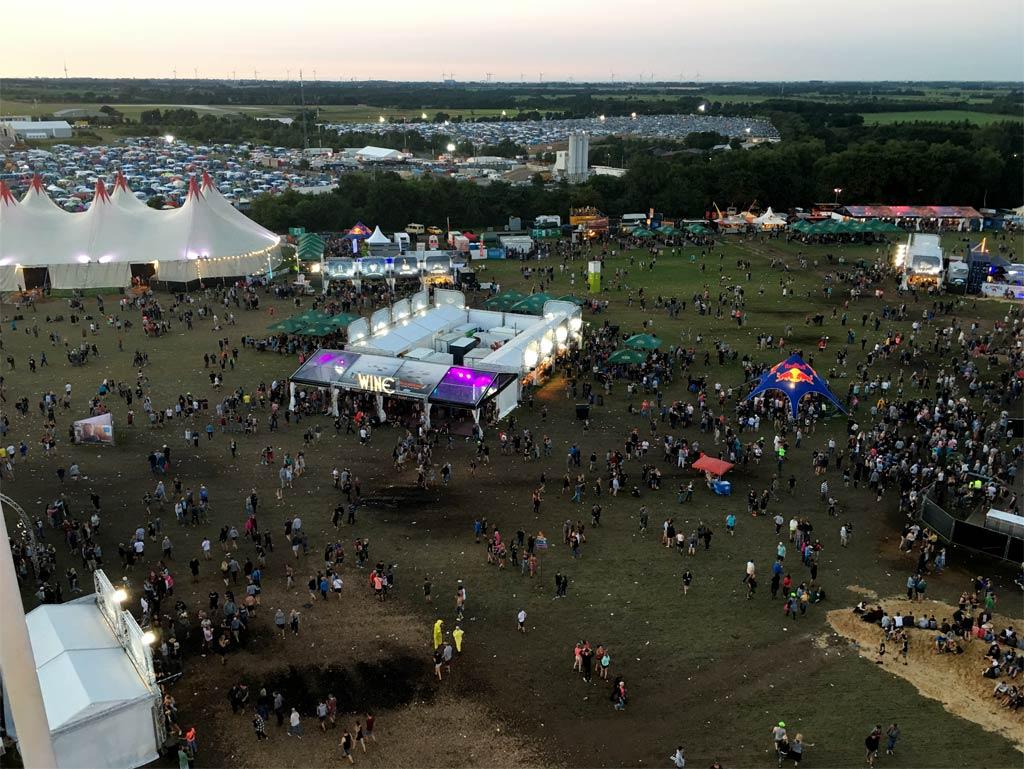 Blick Riesenrad Festival