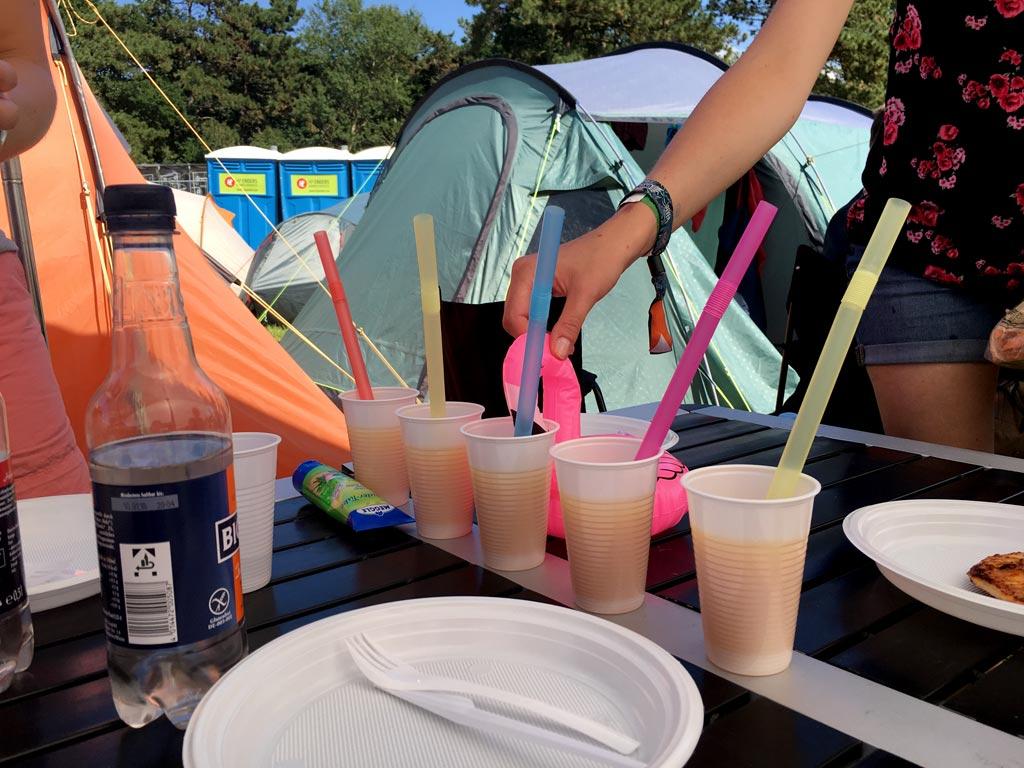Getränke Festival Zelt