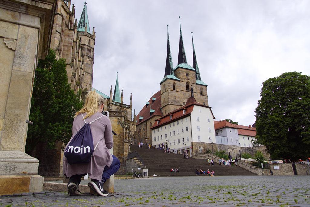 Frau Turnbeutel Moin Dom Erfurt