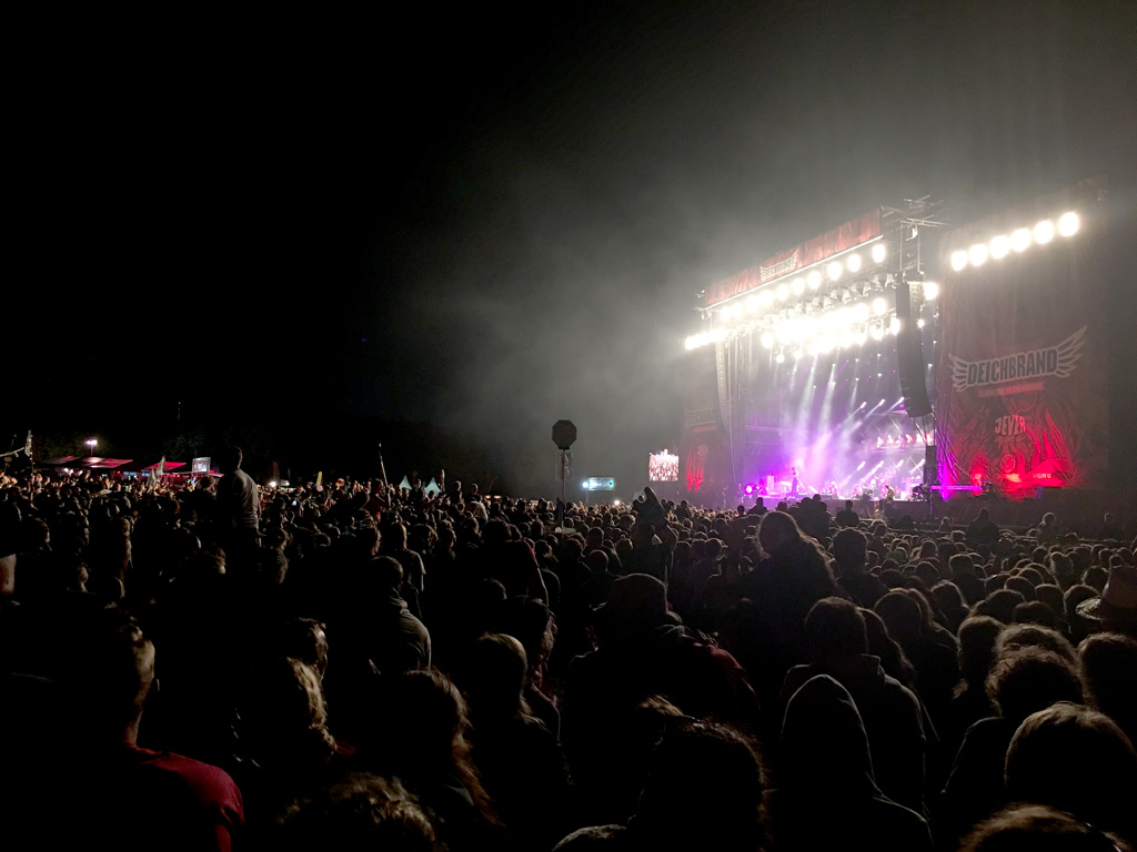 Konzert Festival Kraftklub