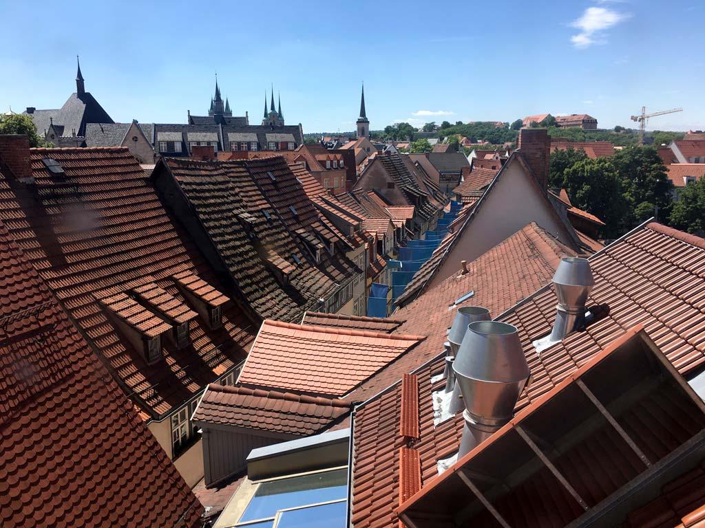 Terracotta Dächer Erfurt