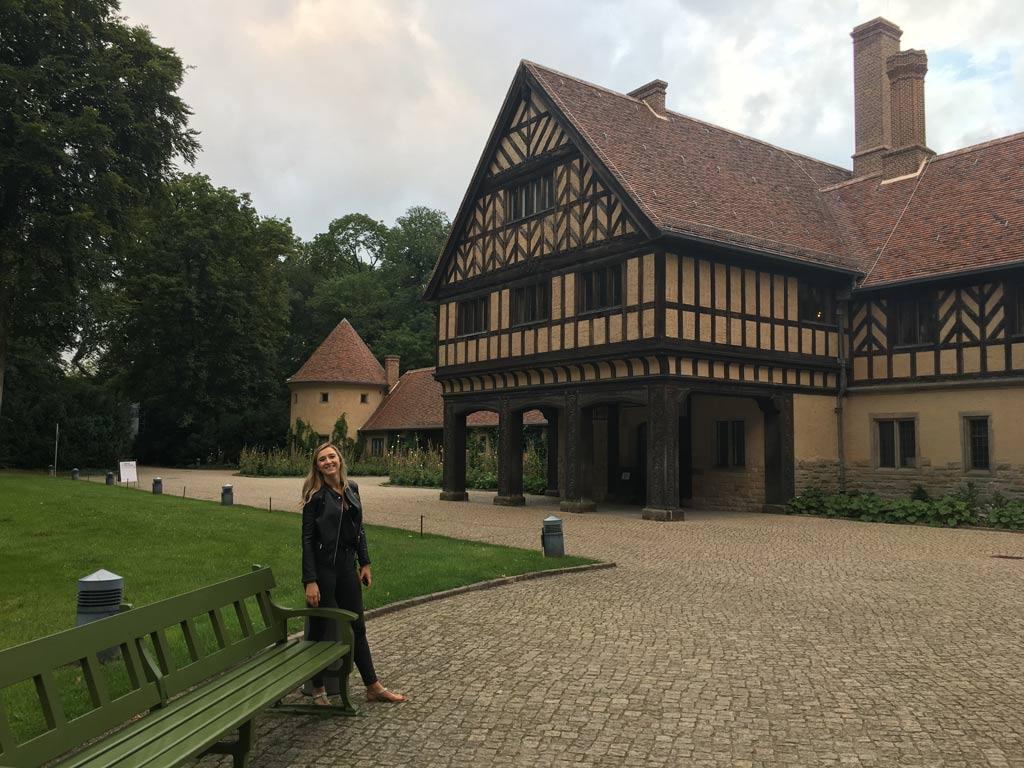Frau Fachwerkhaus Potsdam Cecilienhof