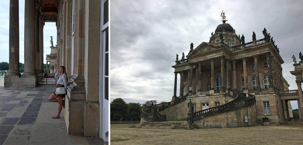 Frau Neues Palais Potsdam