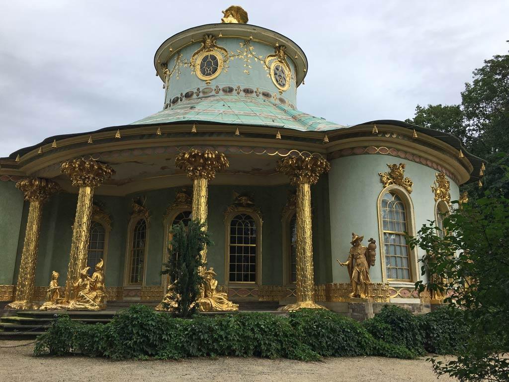 Chinesisches Haus Potsdam Schlosspark
