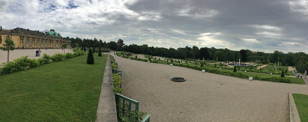 Panorama Potsdam Schlosspark