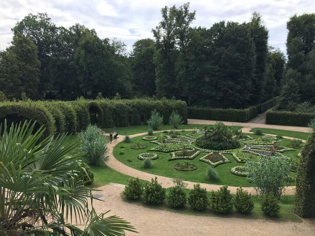 Park Blumen Potsdam Orangerie
