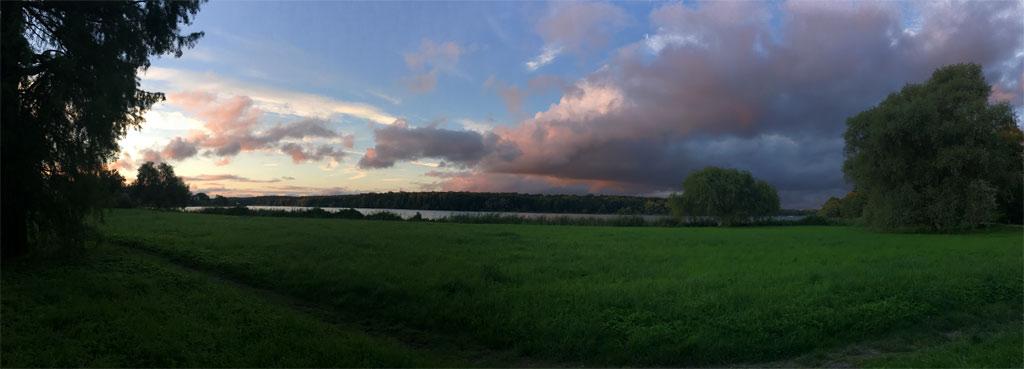 Havel Sonnenuntergang