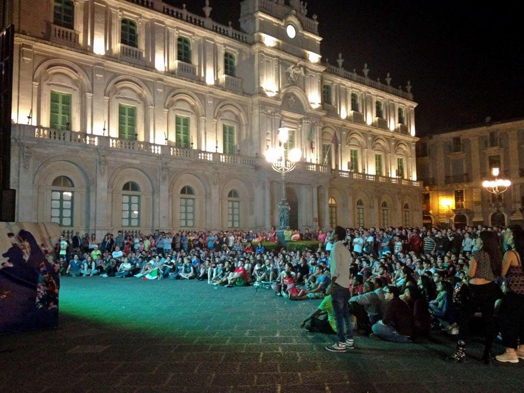 public viewing catania