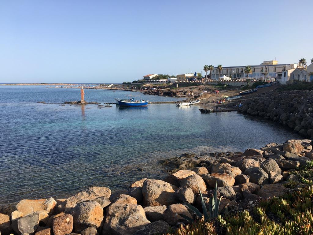 Boot Küste Portopalo