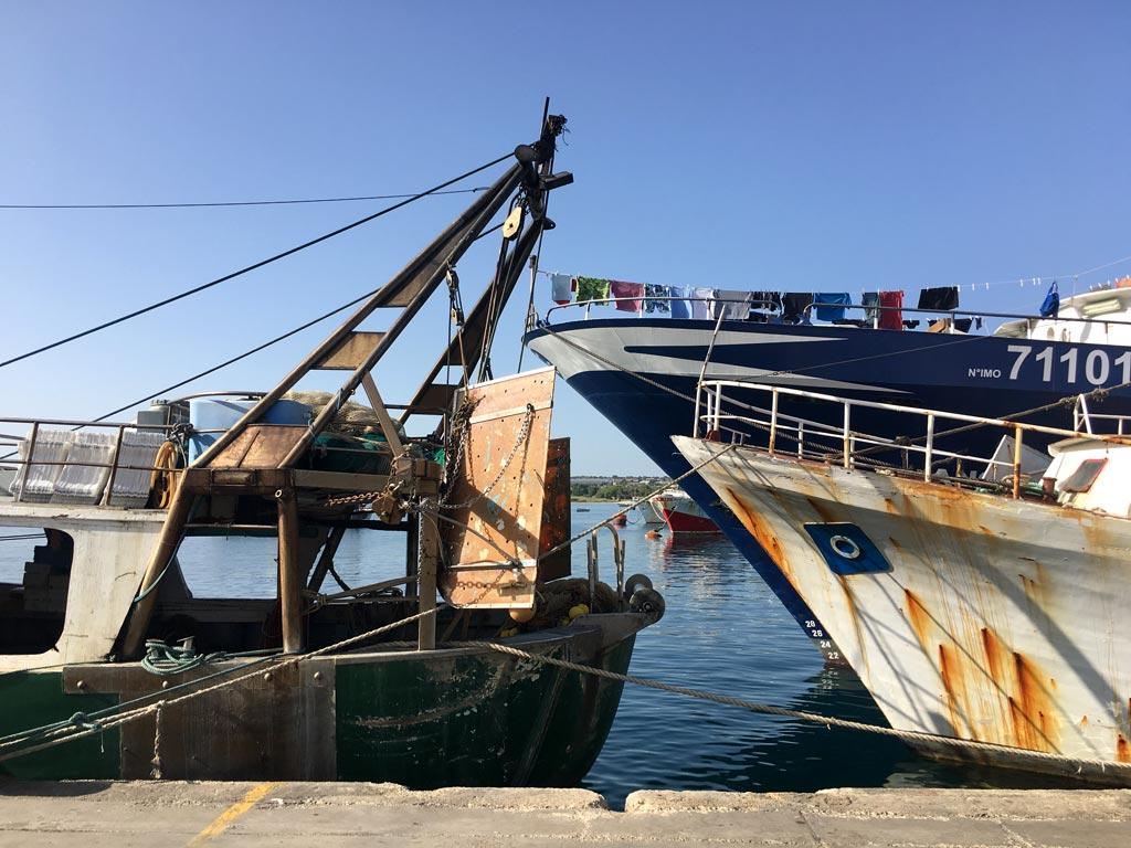 Boote Rost Portopalo