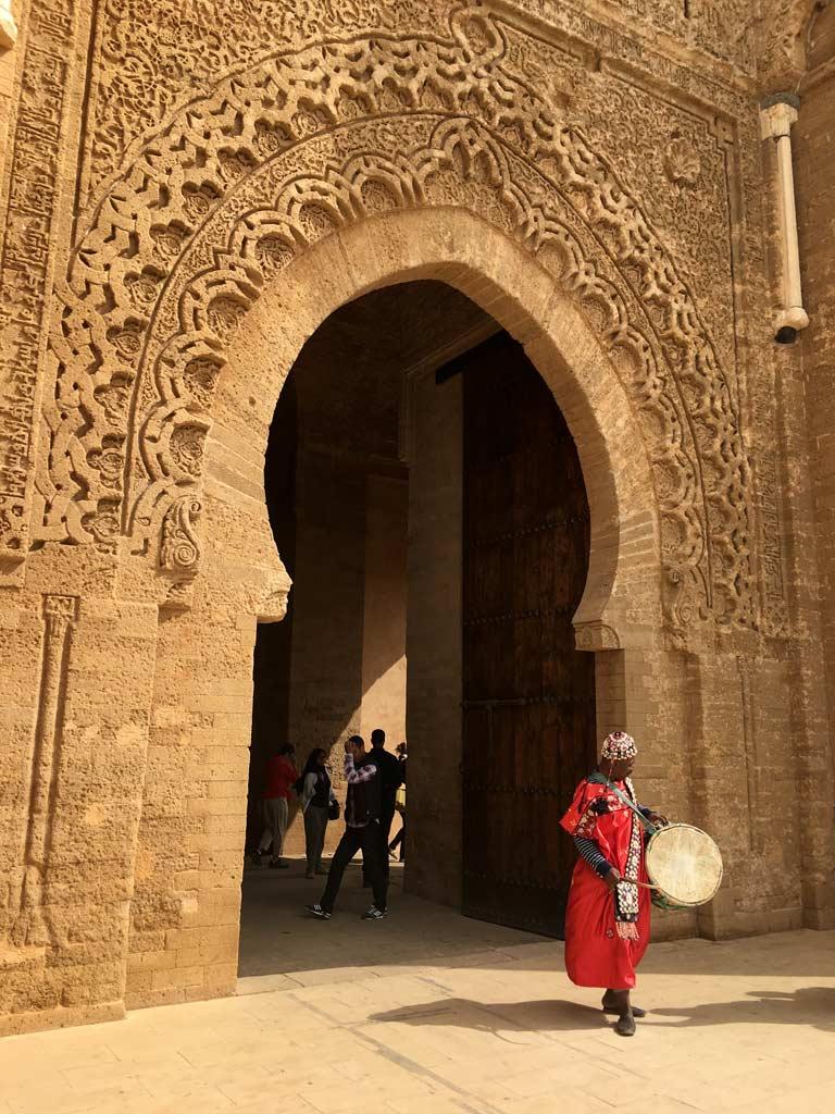 Chellah Eingang Rabat