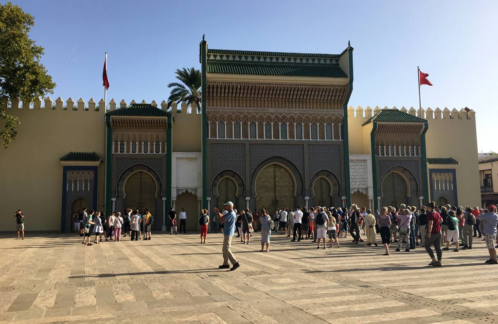 Fes Königspalast Eingang