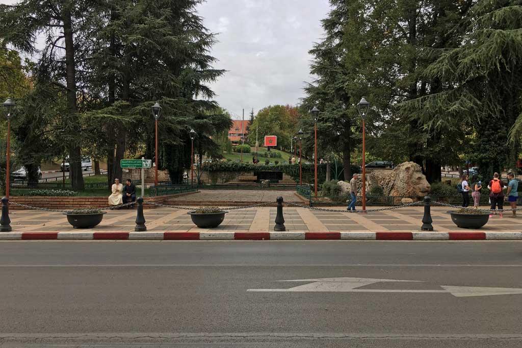 Ifrane Straße