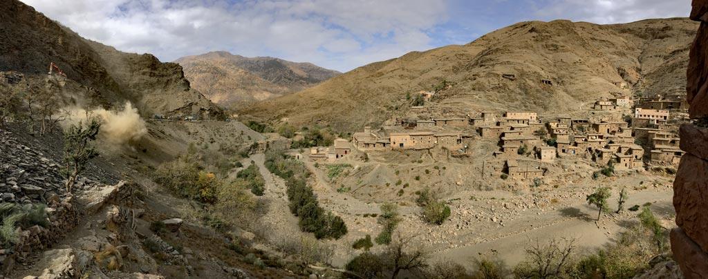Marokko Atlas Gebirge