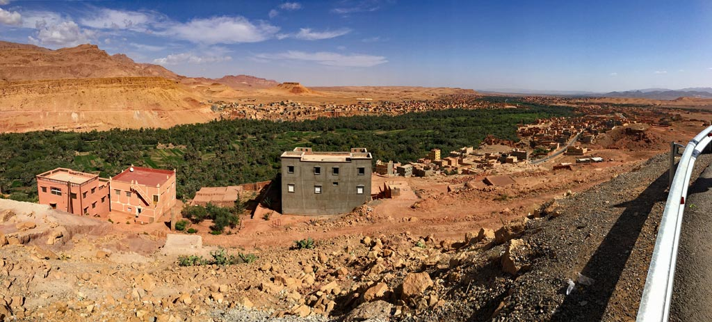 Marokko Tal der Rosen