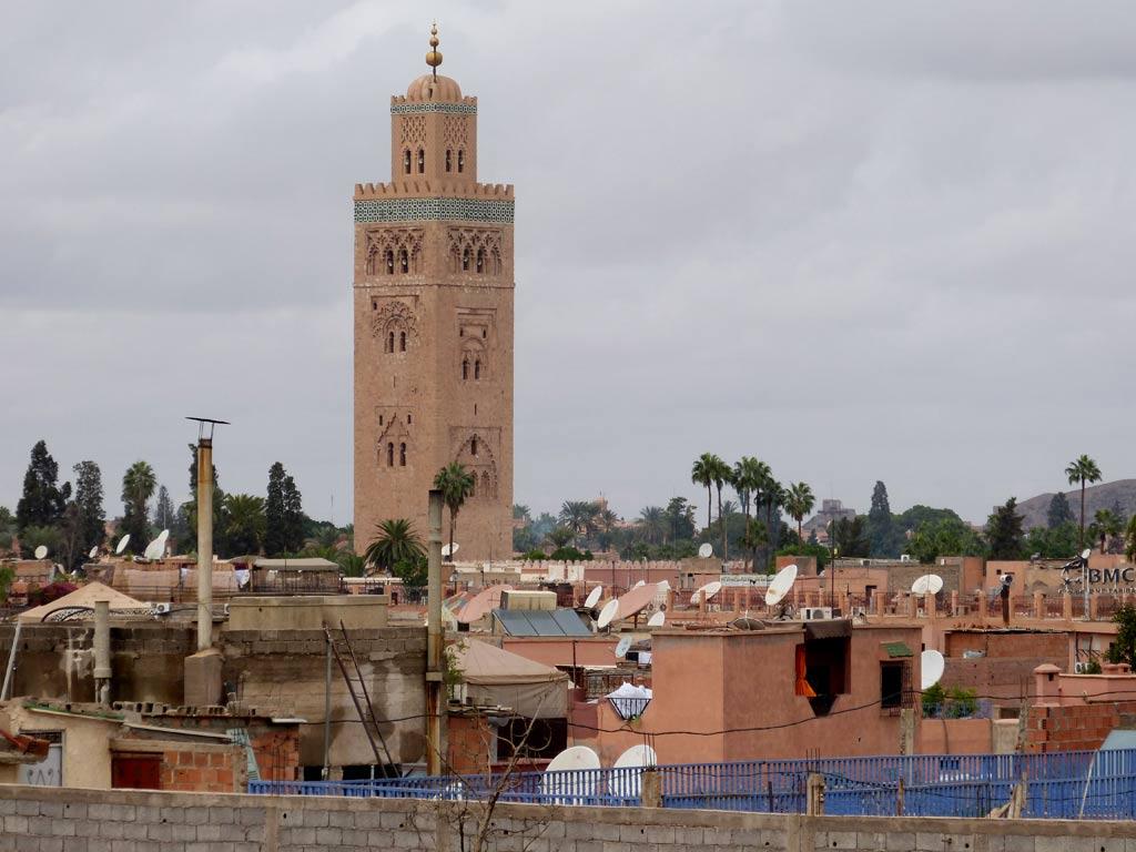 Marrakesch Turm Moschee