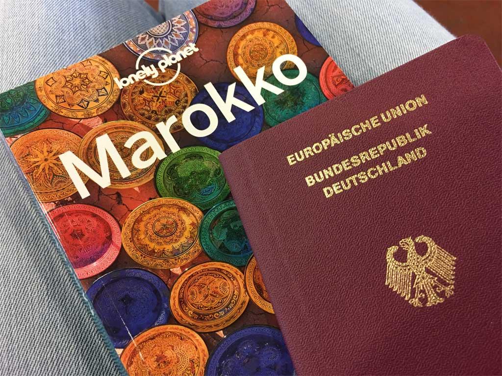 Marokko Reiseführer Reisepass