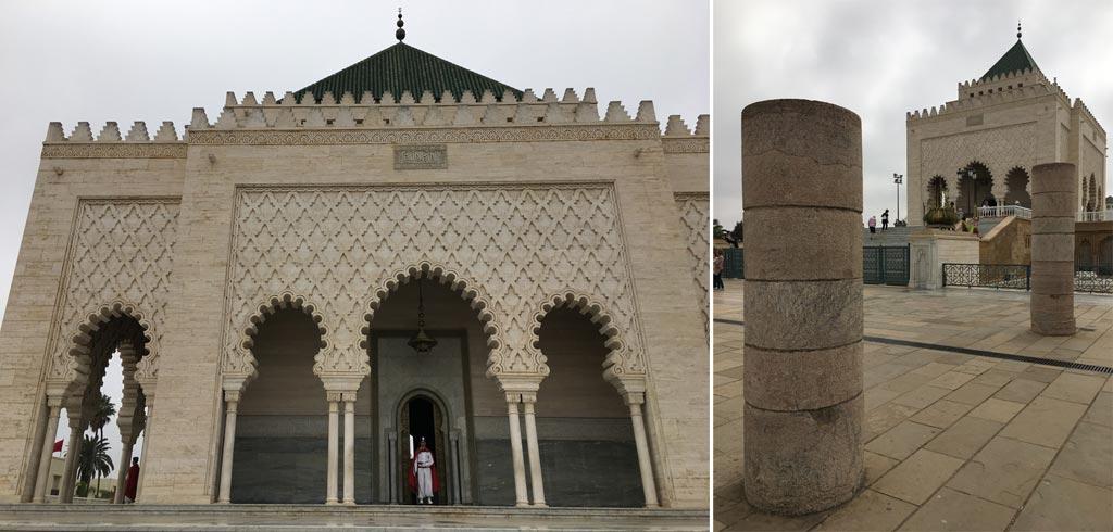 Marokko Roadtrip Mausoleum Rabat