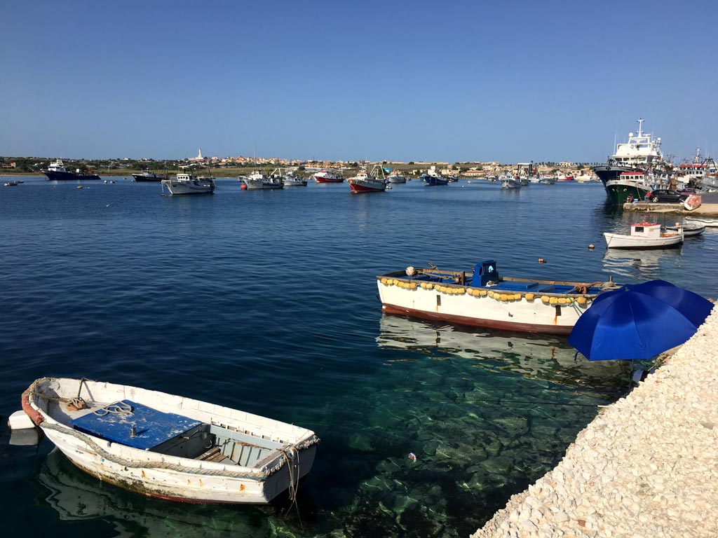 Portopalo Angler Meer