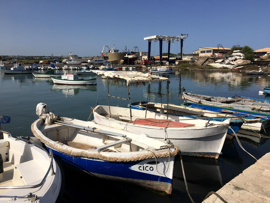 Portopalo Boote