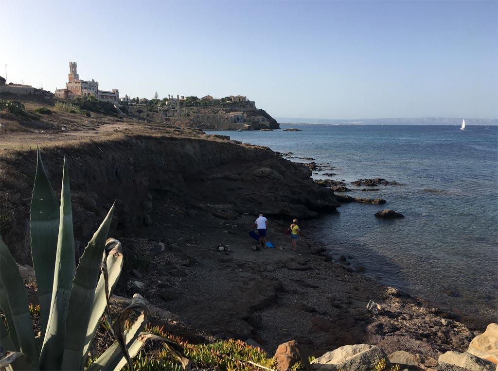 Portopalo Bucht Meer