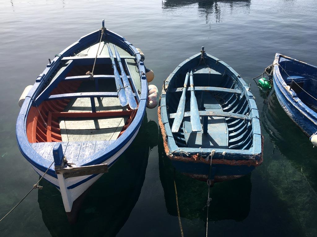 Portopalo Fischerboote