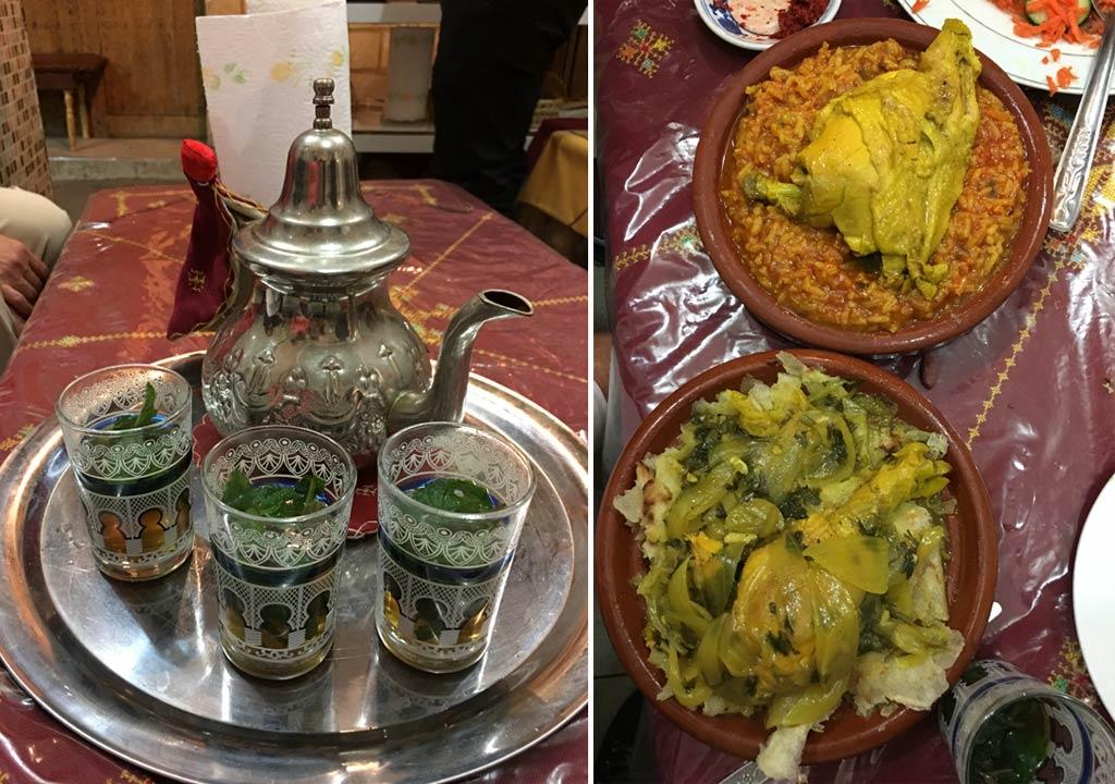 Tee Berber Chicken Aisha Meknes
