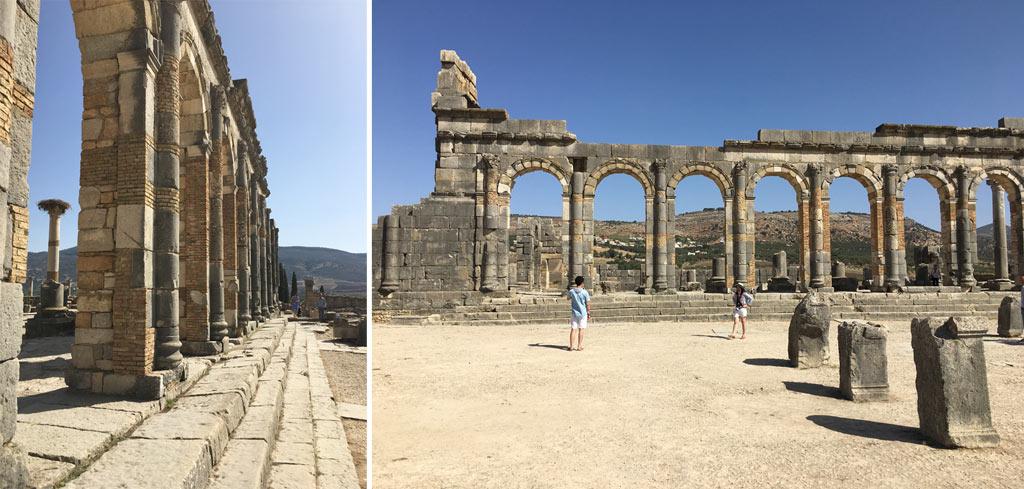 Volubilis Ruinen